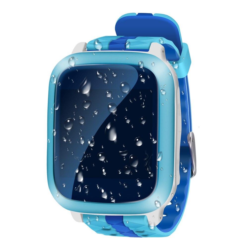 Téléphone intelligent GPS montre enfants enfant montre-bracelet DS18 GSM WiFi localisateur Tracker Anti-perte Smartwatch enfant PK Q80 Q90 V7K Q50