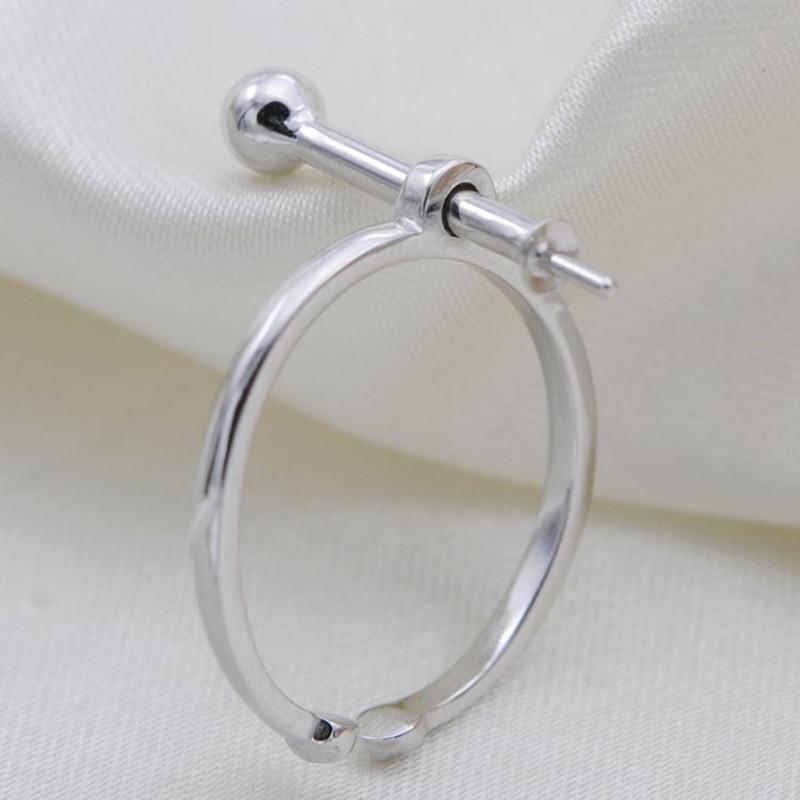 925 Щепка кольцо для женщины Ювелирные изделия из жемчуга не делая бусинами изменять размер кольца крепления pearl более 5 мм