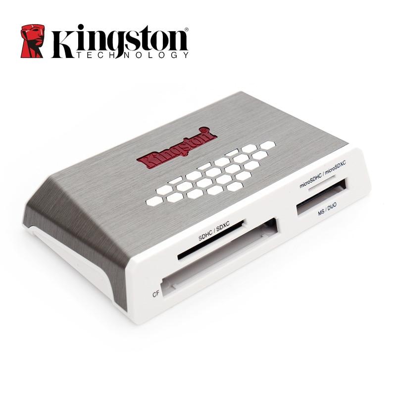Kingston USB 3.0 de alta velocidad CF//lector de tarjeta de memoria SD//MicroSD//ms Duo