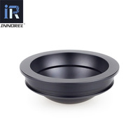 INNOREL BW75 75mm Bowl for Tripod Half Ball Aluminum Alloy Tripod Bowl Adapter for Video Fluid Head Tripod