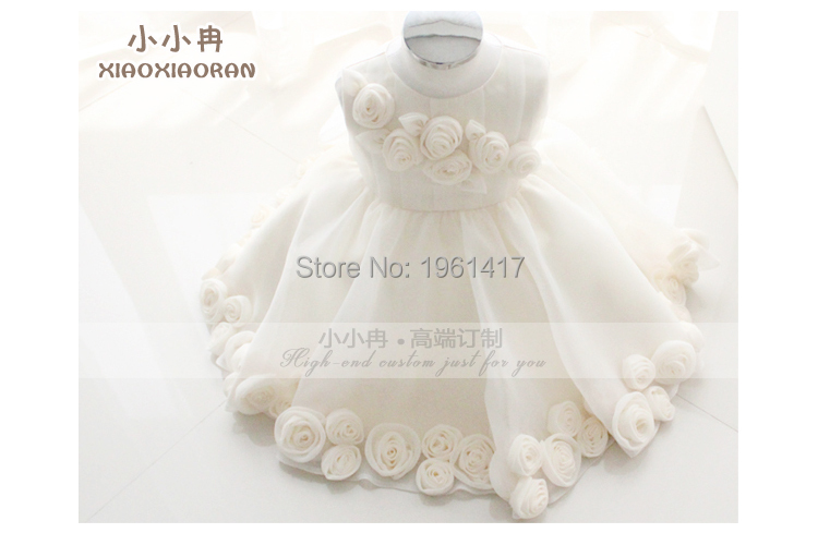2016 Top Quality Girls Dress Free Shipping Baby Girl Dress Can Be Customized Factory Direct