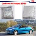 Чехол Cawanerl для автомобиля  фирменная Защита от УФ-лучей  дождя  солнца  снега  Пыленепроницаемая  для Peugeot 207 CC