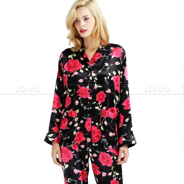 Womens Silk Satin Pajamas Set  Pajama Pyjamas  Set  Sleepwear  Loungewear  S,M, L, XL, 2XL, 3XL  Plus__Fit  All Seasons