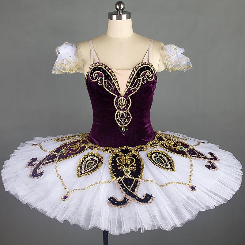 Professional ballet tutus purple, classical ballet tutu dress for girls new ballet skirt ballet costumes tutu