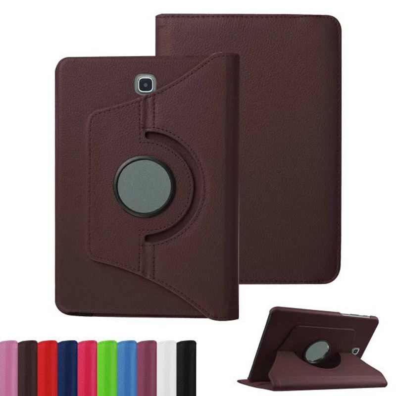 360 Rotating Pu Leather Case For Samsung Galaxy Tab S2 9.7 Stand Flip Cover For Samsung Tab S2 9.7 T810 T815 Protective Shell