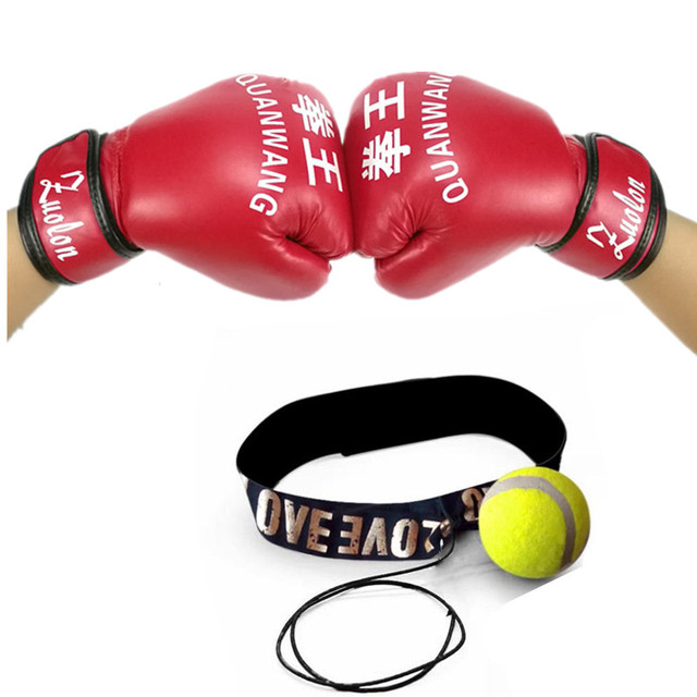 Paia Pezzo Mma amp; Da Boxing Guantoni 1 Boxe Speed Ball Lotta Boxer OAaXndz