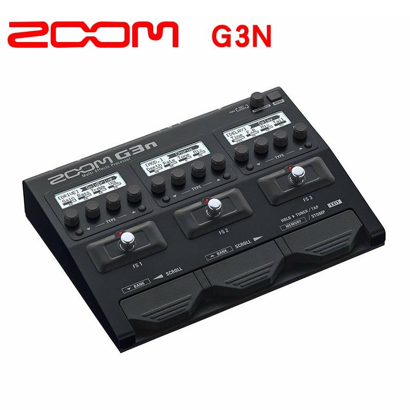 Zoom G3N Electric Guitar Multi Effector Processeur Stomp Pedale
