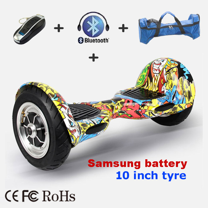 US $284 89 |10 inch Mult Color Samsung LG Battery Two Wheels Self Balance  Scooters, APP Smart Electric Hover board with Bluetooth speaker-in Self