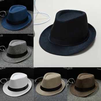 Hat Panama Straw Fedora Trilby Cap Foldable Travel Brim Wide Mens Ladies Summer Formal