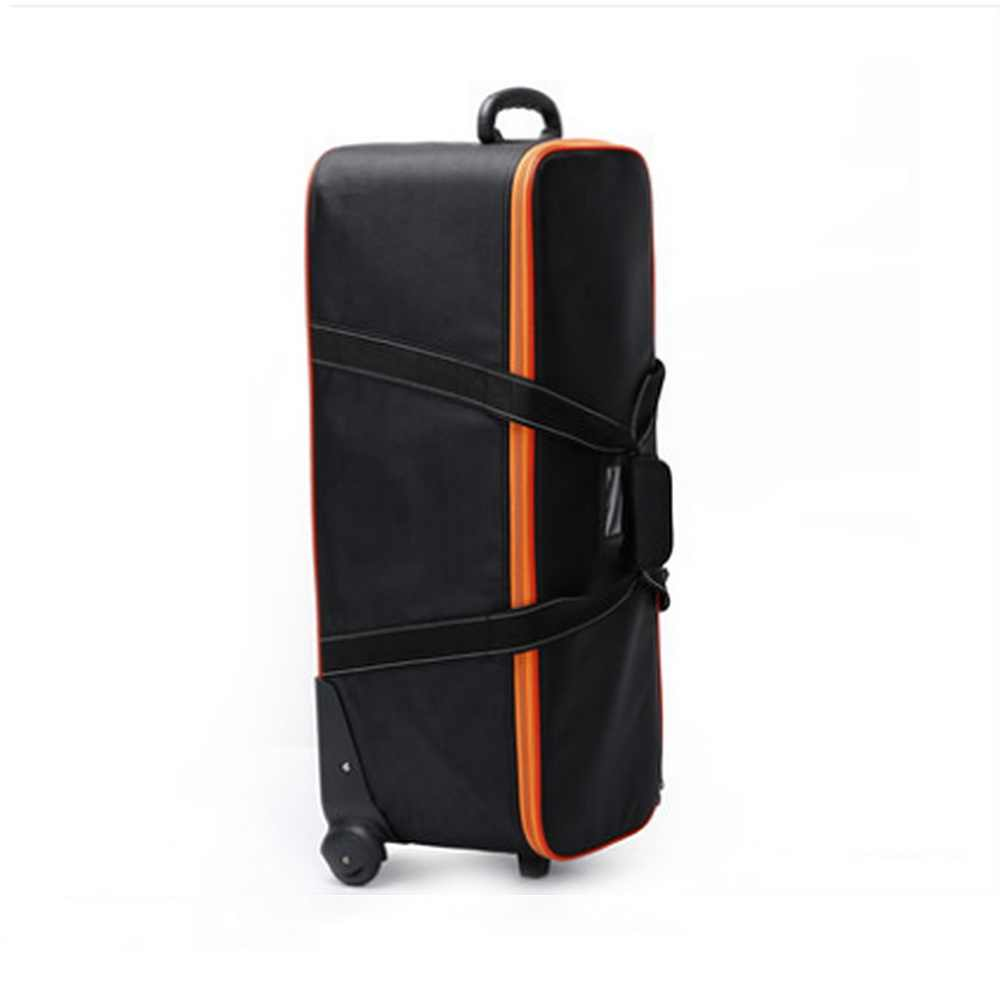 Studio Gear Bag for Camcorder Studio Flash Strobe Lighting Set Equipment Trolley Protective Case Field Photography  CD50
