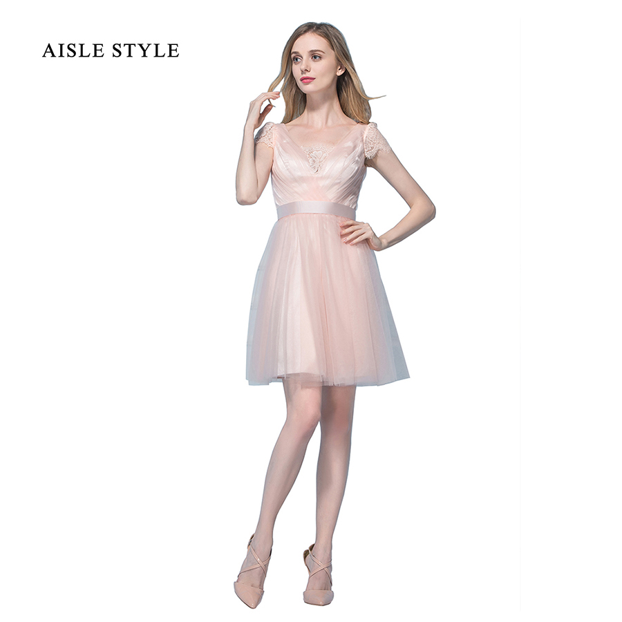 Compare prices on short vintage style bridesmaid dresses online aisle style bohemian bridesmaid dresses for juniors short bridesmaid dress vintage with short sleeves ombrellifo Gallery