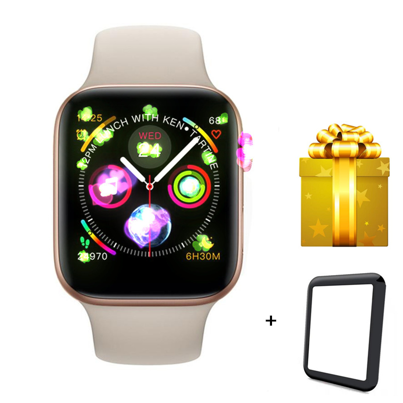 Bluetooth Smart Watch IWO 8 for apple watch 44mm series 4 iwo 8 smartwatch with heart rate monitor 1.54 inch square screen