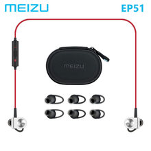 Original MEIZU EP51 Bluetooth Headset Sport Earphone for phone Computer wireless APT-X Sports earphone With MIC Aluminium Alloy