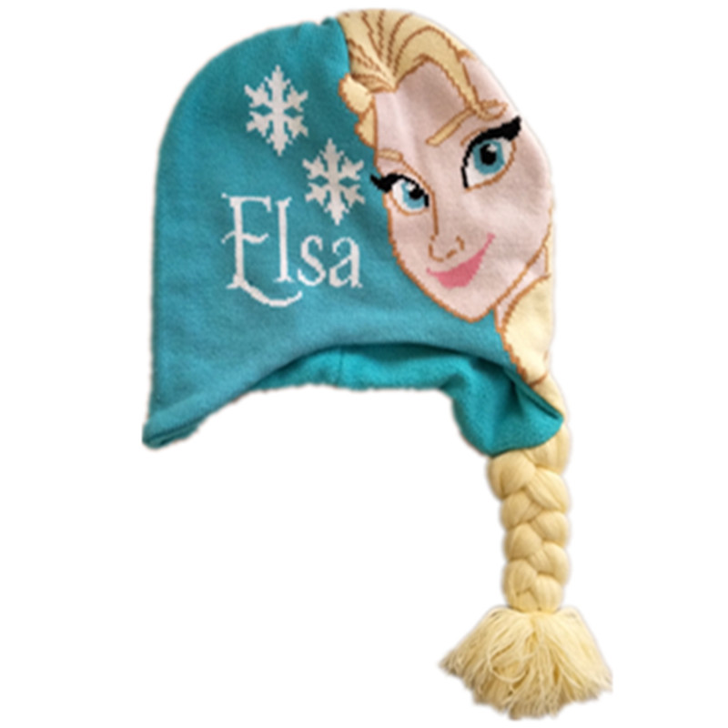 Girl's Hats Winter Hats Cartoon Olaf Elsa Anna Beanies Cute Costume Knitting Kids Caps Gorro Adult Bones Gorras Skullies Beanies With S Apparel Accessories