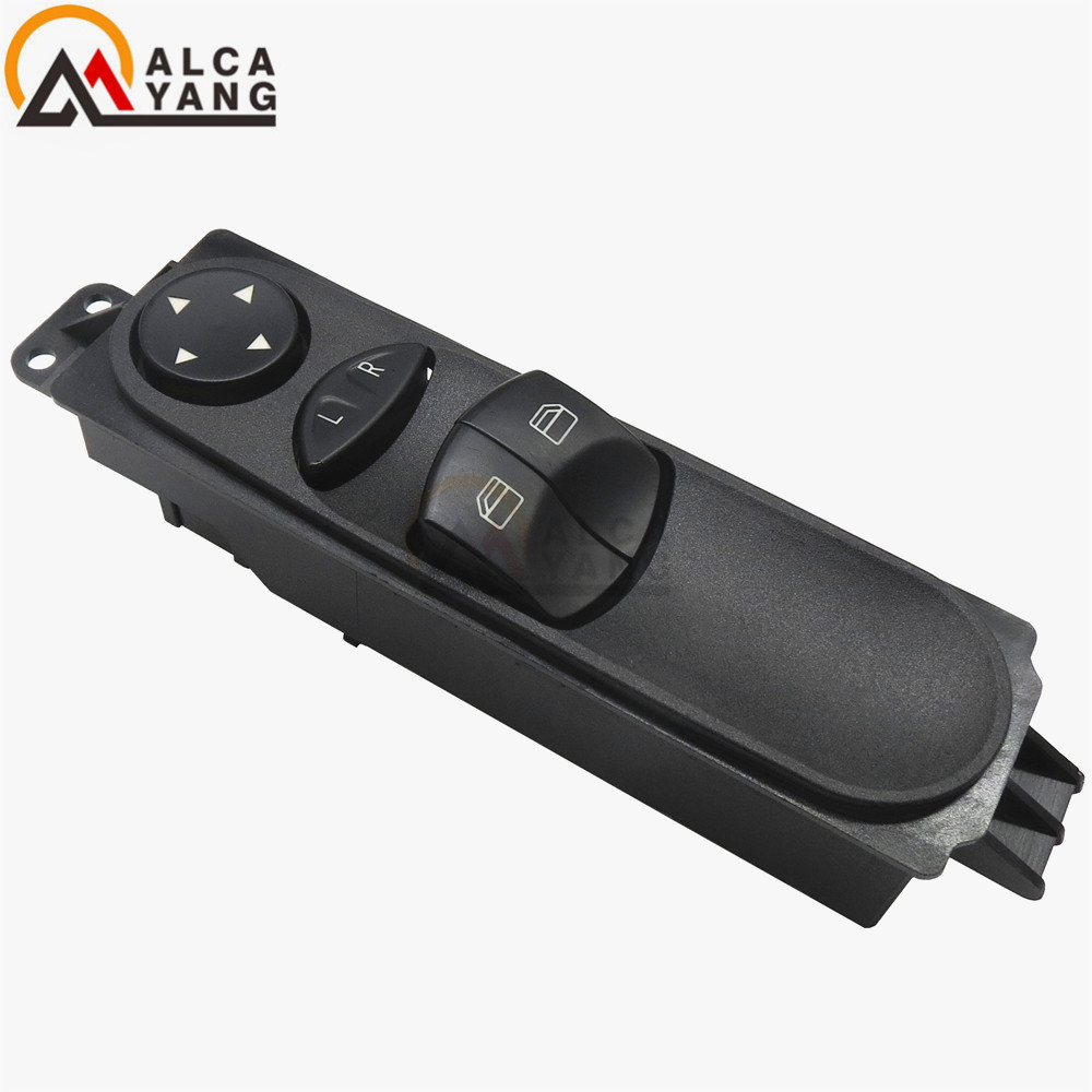 Malcayang Front Left Master Power Window Switch For Mercedes Sprinter W906 A9065451213