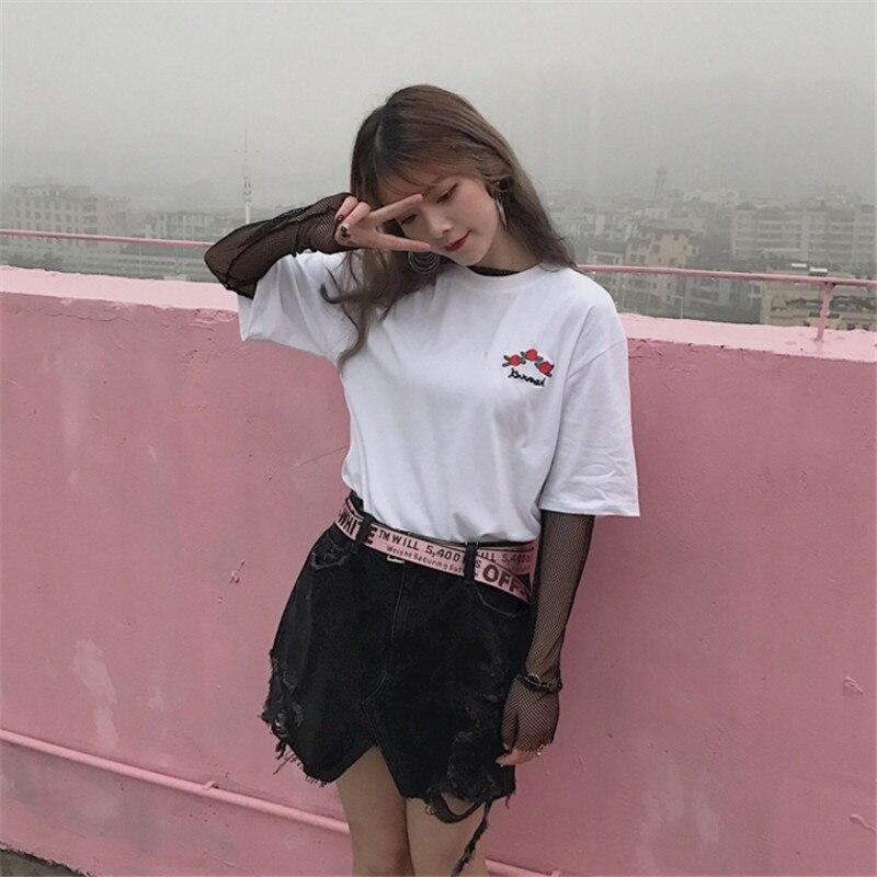 южная корея футболки топы купить в Китае