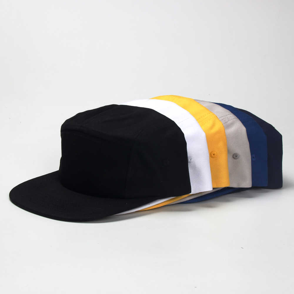 938d2453 ... DongKing Custom Jockey Hat 5 Panels Baseball Cap Snapback Hat Free Text  Embroidery Logo Print Cotton ...