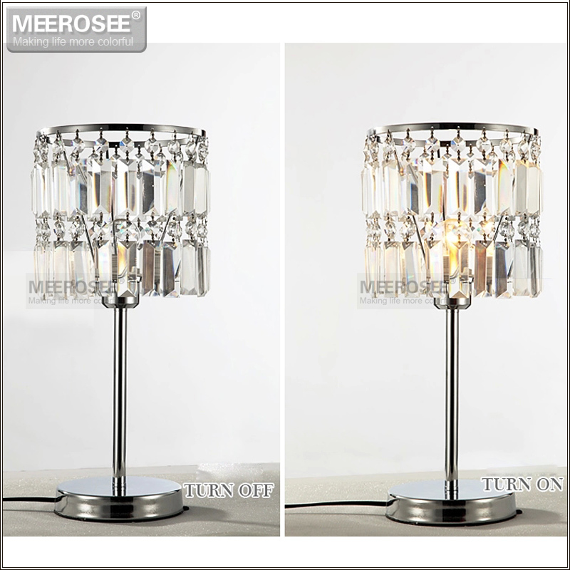 Хрустальный свет стол современные cristal Настольная лампа для гостиной кристалл света бюро Кристалл Ночной свет