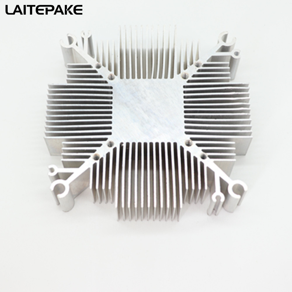 2019 New 10w-200w Pure Aluminium Cob Led Heatsink Multichip For Led Cooling DIY Led Grow Chip Light Fixtures With 34*34MM Hole