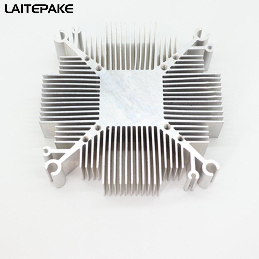 2019 nouveau 10 w-200 w pur aluminium cob led dissipateur thermique multichip pour led refroidissement bricolage Led grandir puce luminaires avec trou de 34*34MM