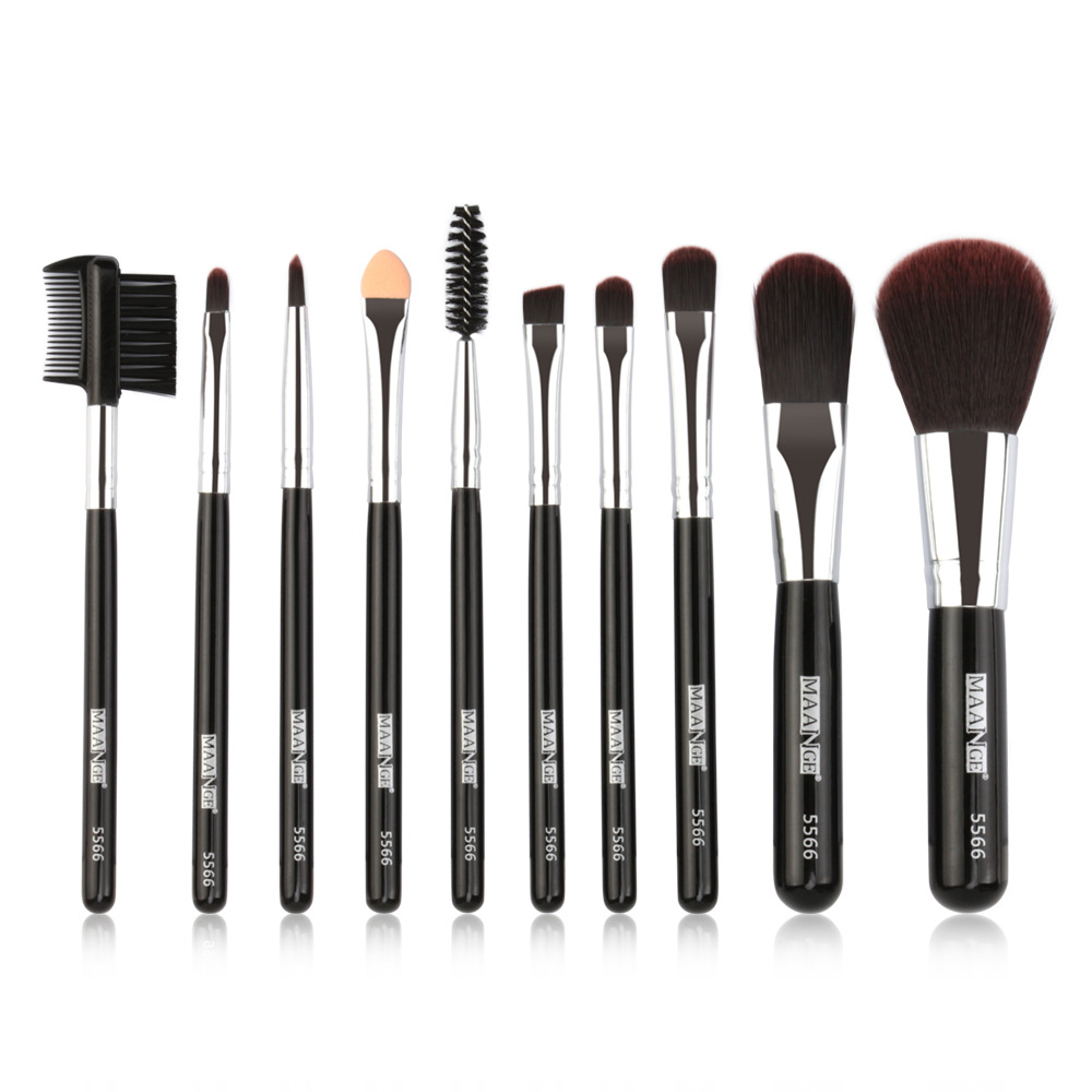 5 Pcs set Professional Makeup Brush Set Portable Kit in Eye Shadow Applicator from Beauty Health