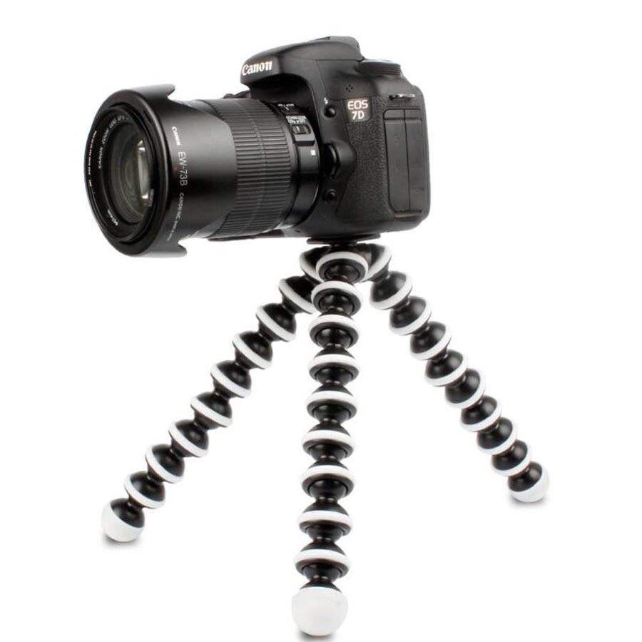 Fotocamera Gorillapod Treppiedi M L Medium Large Size Stand Monopiede Treppiede Flessibile Mini Travel Outdoor Fotocamere Digitali Hoders