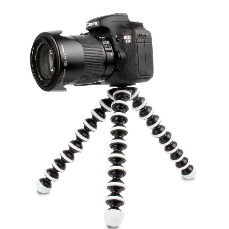 M L gran tamaño mediano Cámara Gorillapod Trípodes para fotografía Monopod trípode Flexible Mini viajes al aire libre de las cámaras digitales Hoders