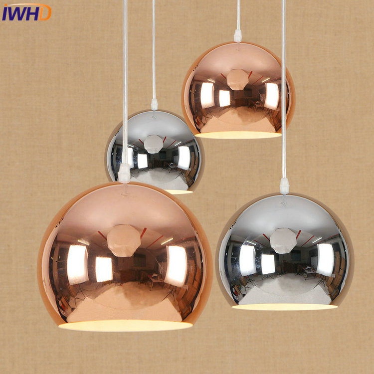 IWHD Creative Loft LED Pendant Lights Vintage Industrial Pendant Lamp Simple Nordic Hanglamp Fixtures Home Lighting Luminaire iwhd iron nordic pink led pendant lights vintage industrial loft pendant lamp retro hanglamp fixtures home lighting luminaire