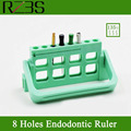 RZ3S 1 pc endodontic ruler for endo file protaper dentist disinfection block 5 colors autoclavable endo holder