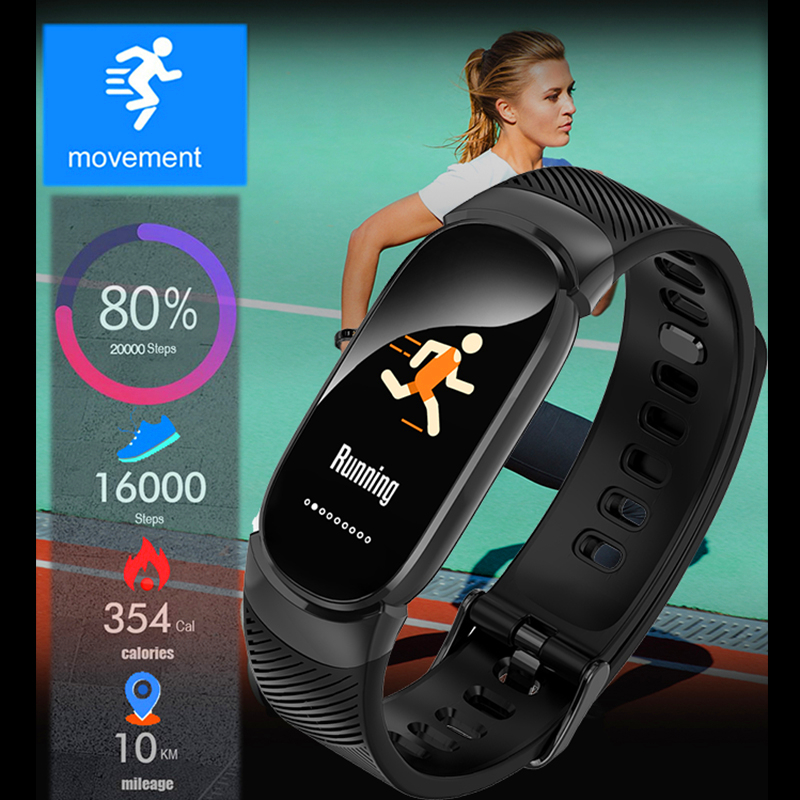 BANGWEI Bluetooth Waterproof Smart Watch Fashion Women Ladies Heart Rate Smartwatch Relogio inteligente For Android IOS reloj in Women 39 s Watches from Watches