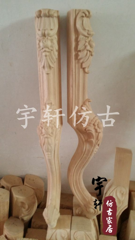 Dongyang Wood Carving Fashion Furniture Legs Solid Wood Cabinet Legs Bed Sofa  Legs Table Legs Customize In Statues U0026 Sculptures From Home U0026 Garden On ...