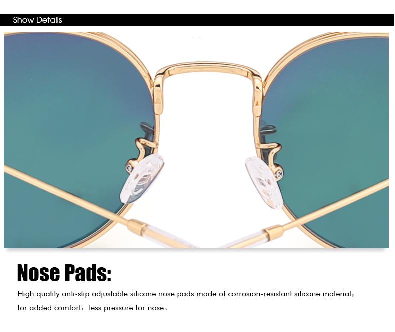 Retro Round Polarized Sunglasses Online