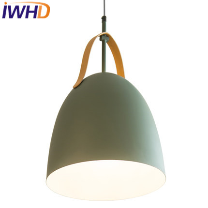 IWHD LED Modern Pendant Lamp Fashion Iron Hanging Lights Living Room Kitchen Luminaire Suspendu Home Lighting Fixtures Hanglamp