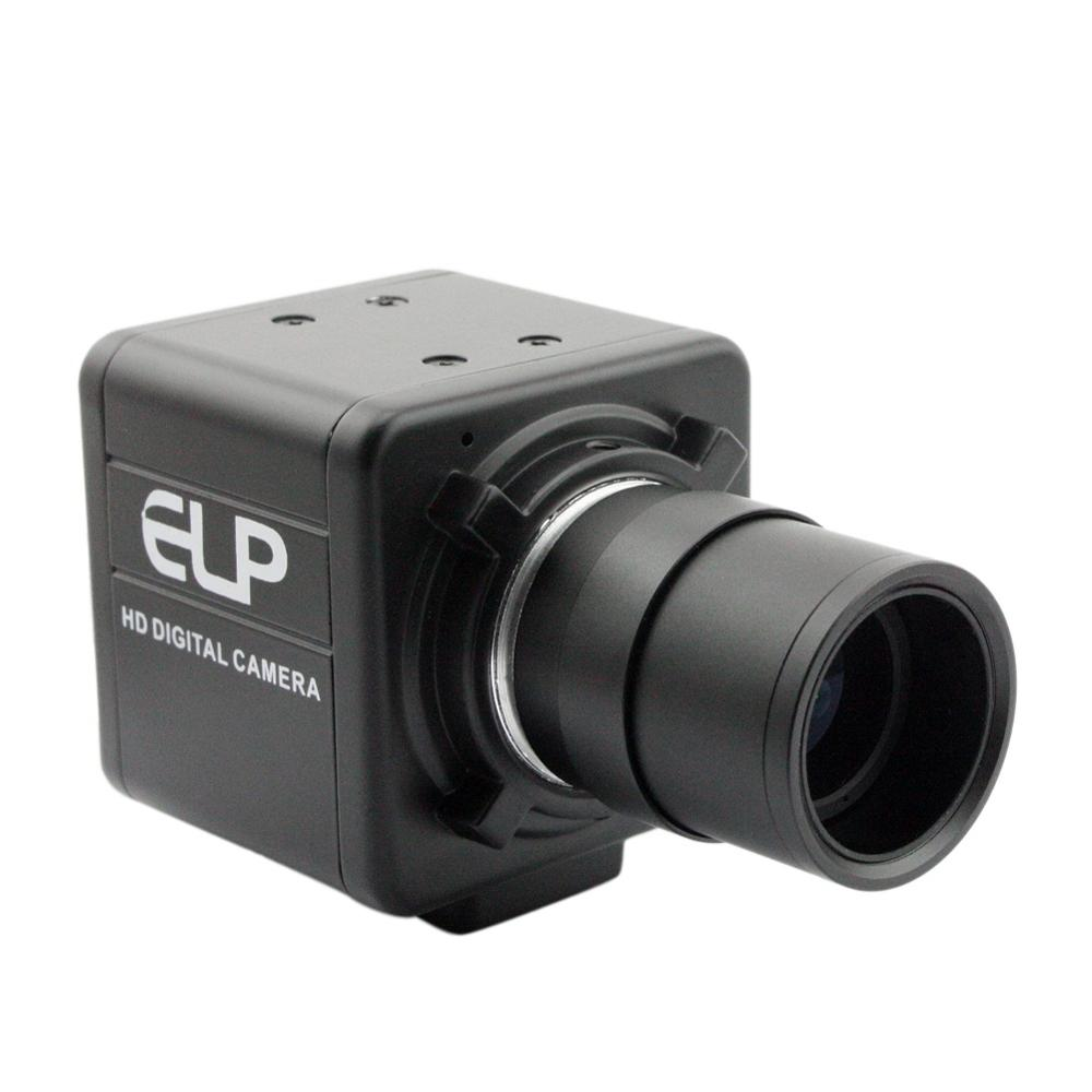 2.8-12mm varifocal lens 5MP 2592x1944 CMOS Aptina MI5100 1080P 30fps Free driver industrial usb camera for Telescope,Endoscope