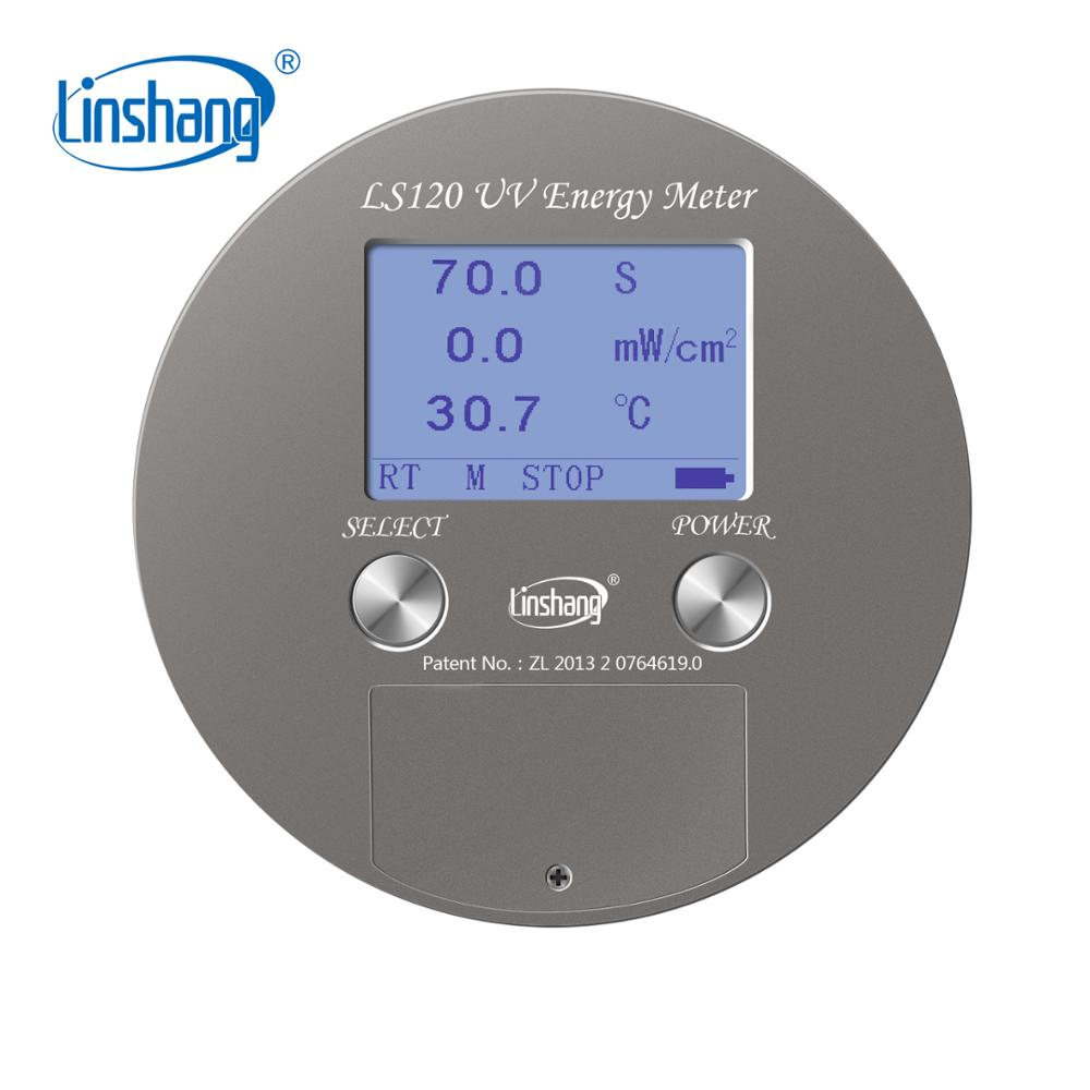Linshang LS120 UV Energy Meter replace UV Integrator for 365nm UVA high pressure mercury lamp with