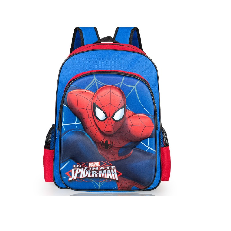 3D Boys School Bag Kids Children School Bags Boy Spiderman School Backpack  6-12 Years Old Backpack Shoulder Bag Sac A Dos Gar