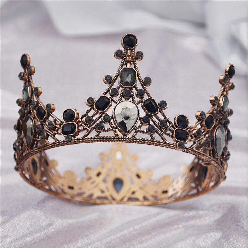 Diadem Crystal Tiara Crown for Cake baking decoration Girls and Boys Headdress Queen Bridal Crowns Pageant Wedding Hair Jewelry