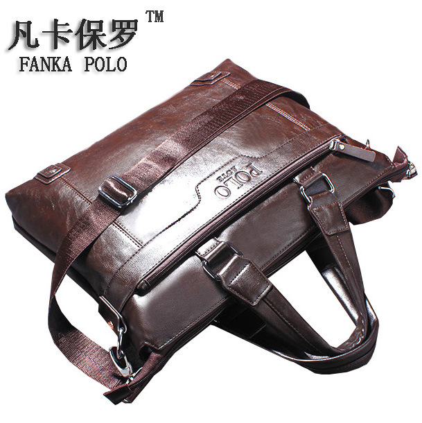 Fashion Tote Men Handbag Famous Brand Single Shoulder Bags Business New Designer High Quality Casual Briefcase for Male Bags famous 2016 hot women high quality pu leather hollow out shoulder bags casual tote brand designer fashion solid handbag
