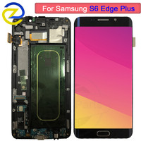 5.7Amoled For Samsung Galaxy S6 EDGE Plus G928 G928F LCD Display Touch Screen Digitizer Assembly replacement 100% Tested
