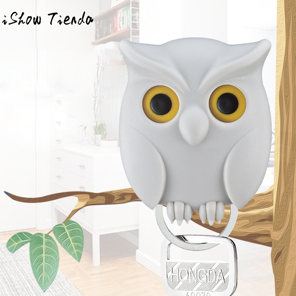 Aliexpress.com : Buy Practical Owl Key Holder Wall Mounted Magnetic Key  Holder Home Decor .