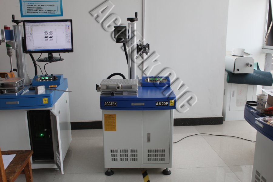 Cheap And High Precision Cnc Fiber Laser Marking Machine For Steel Leather Metal Nonmetal