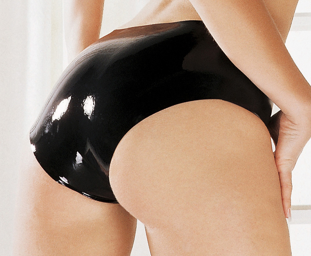 Sexy Women Fetish Latex Underwear Rubber BIKINI Panties Sexy Pants/Briefs Top Quality