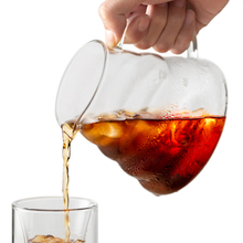 ROKENE Glass Coffee Dripper Insulated To Keep Your Pour Over and Tea Hot Fresh Drip Kettle Pot