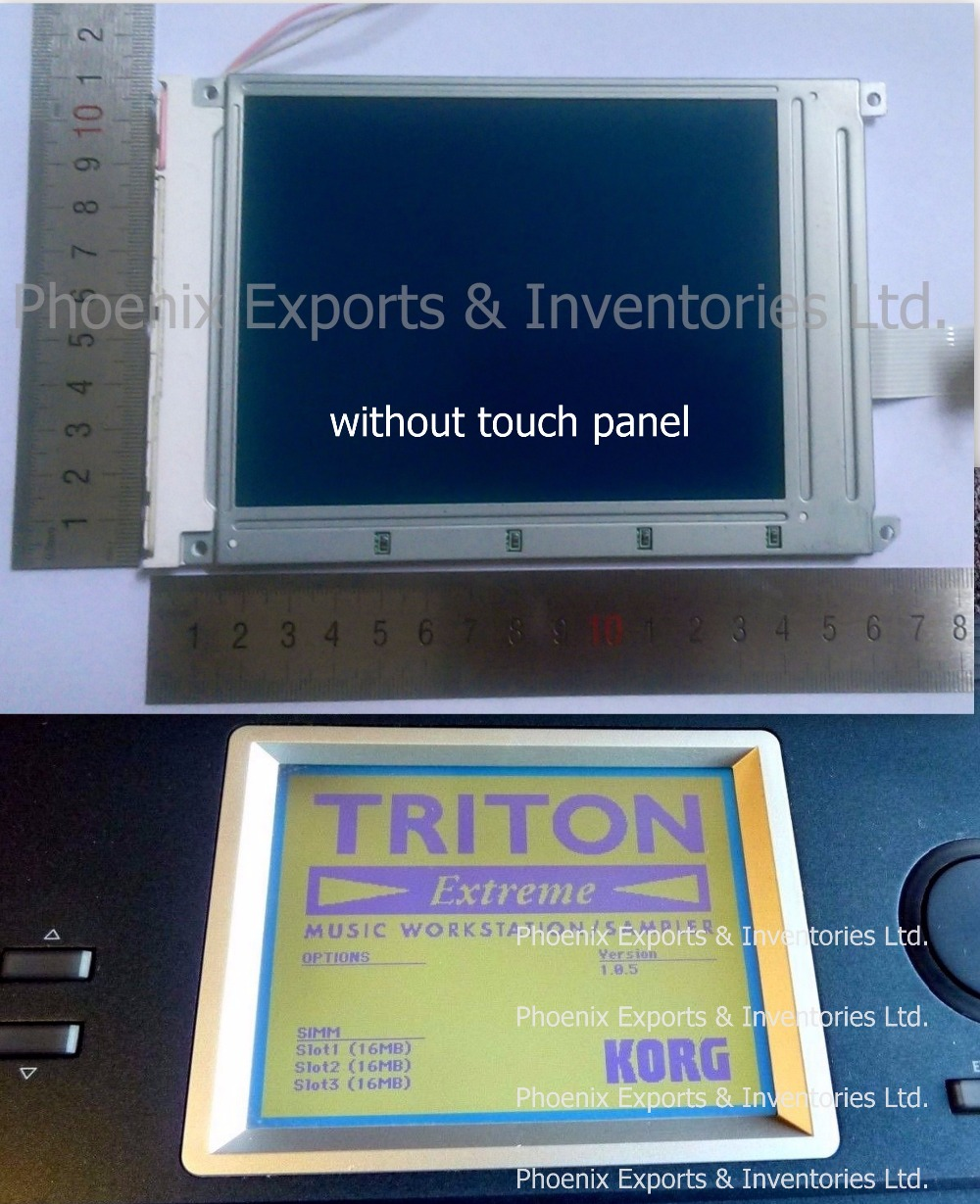 Original Korg LCD Screen for Korg Triton EX Extreme EX61 EX76 EX88 D16XD D32XD LCD SCREEN Display Panel