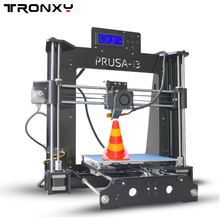 Newest Prusa i3 3D Printer kit DIY Aluminum Hotbed LCD Video high quality With free Filaments and 8GB card 3d printer parts