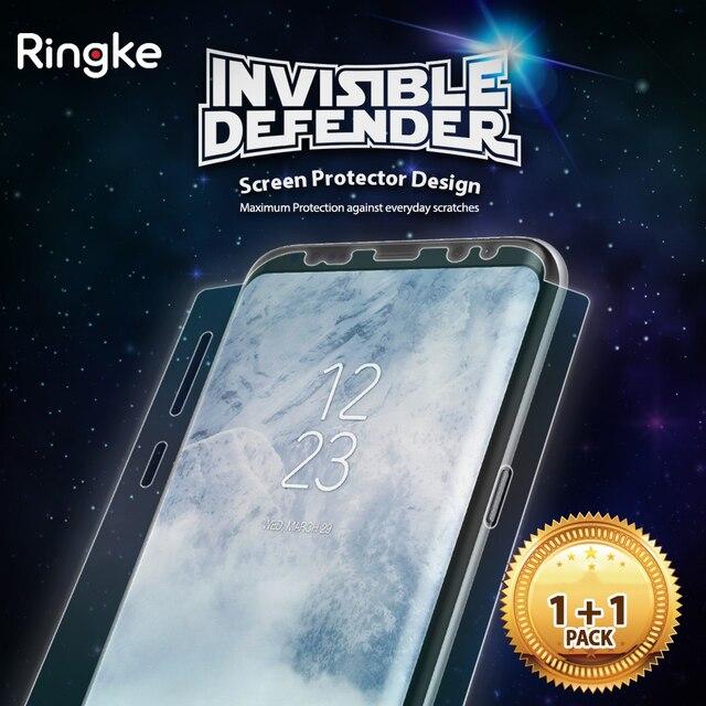 Ringke полный охват Экран протектор для Samsung Galaxy S8 / S8 Plus Невидимый защитник супер тонкий HD четкость пленка [не Стекло]