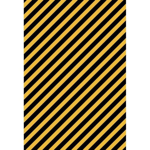 Custom Photography Backdrops Yellow Black Stripes Backgrounds For Studio Portrait Photo Shoot Vinyl Cloth Photophone Photocall