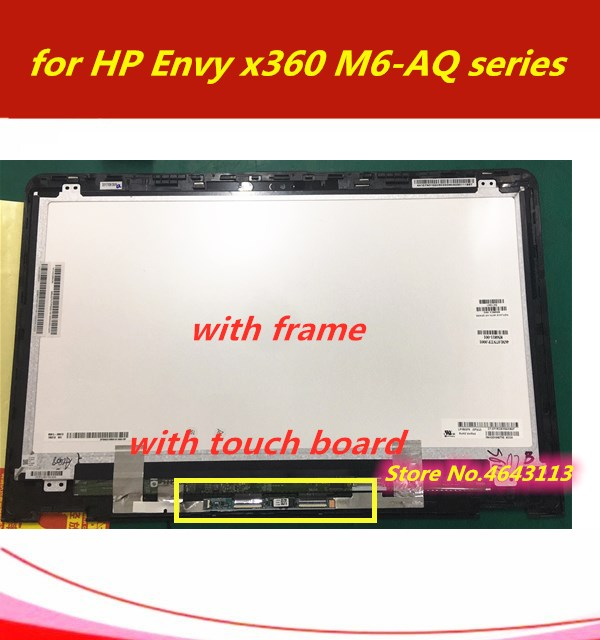 """TOP15099 HP Envy x360 M6-W 15.6/"""" NEW LED LCD Touch Screen Full Assembly FHD FAST"""