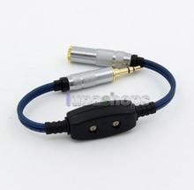 0ohm-220ohm PUR Argent 3.5mm Mâle À Femelle Réglable Résistance Câble Pour Etymotic RE4 JH24 Roxanne etc. LN005475