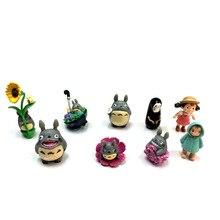 Miyazaki Toy My Neighbor Totoro Doll PVC Action Figure Hayao Miyazaki Japanese Anime Figures Figurines Kids Toys 9pcs/lot